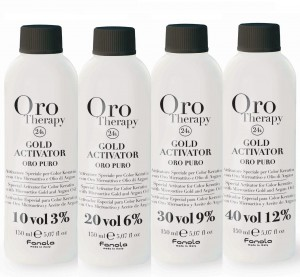 ORO THERAPY 24k aktywator ( 3% 6% 9% 12% ) 150ml, bez amoniaku