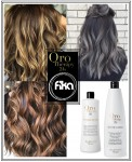 ORO THERAPY : UNIQUE PERM 500ml +  TEUTRALIZER 1000ml (płyn i utrwalacz do loków i fal)