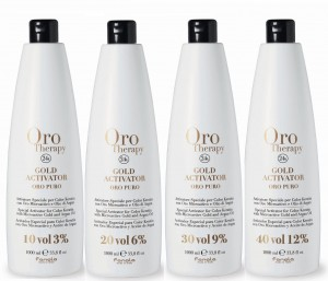 ORO THERAPY 24k aktywator ( 3% 6% 9% 12% ) 1000ml, bez amoniaku